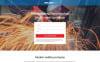 Адаптивний Шаблон цільової сторінки на тему зварювання New Screenshots BIG