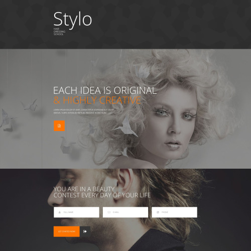 Stylo - Responsive Landing Page Template