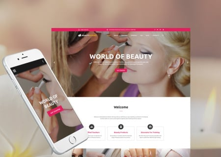 Beauty School Responsive