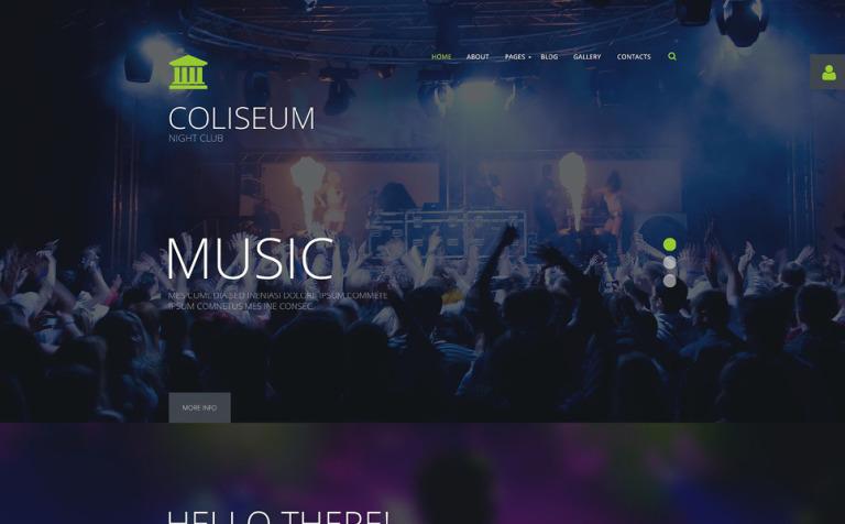 Coliseum Joomla Template