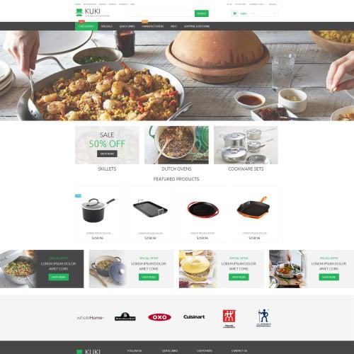 Housewares - ZenCart Template based on Bootstrap
