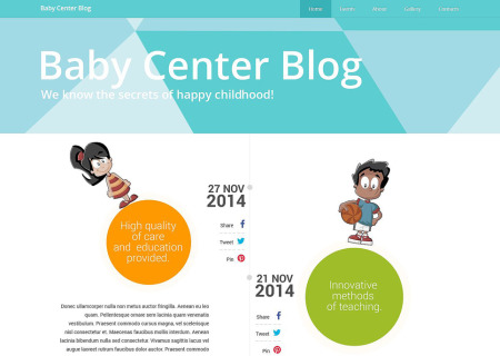 Kids Center Responsive