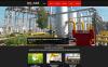 Modèle Moto CMS 3 adaptatif  pour site de gaz et de pétrole New Screenshots BIG