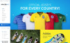 Modello OpenCart Responsive #55190 per Un Sito di Calcio New Screenshots BIG