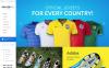 "Modello OpenCart Responsive #55190 ""SoccerPro"" New Screenshots BIG"