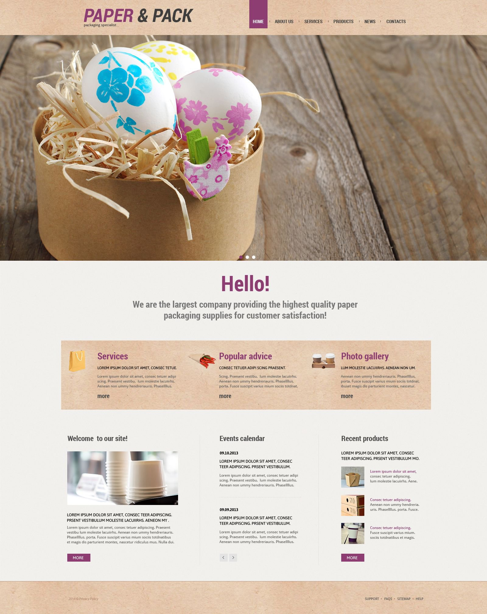 Packaging Responsive WordPress Theme