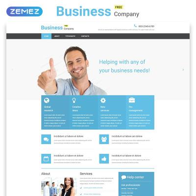 Kostenlose Website Vorlagen | Free Website Templates |TemplateMonster