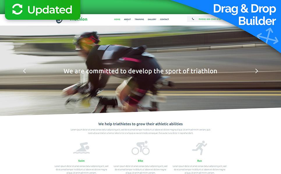 Responsives Moto CMS 3 Template für Sport  New Screenshots BIG