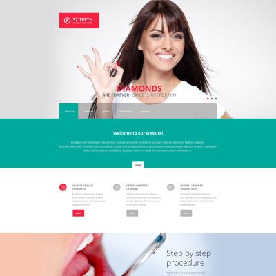 Dentistry Responsive Šablona Webových Stránek