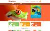 Reszponzív Állatkereskedés témakörű  Shopify sablon New Screenshots BIG
