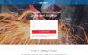 Reszponzív Hegesztés témakörű  Nyítóoldal sablon New Screenshots BIG