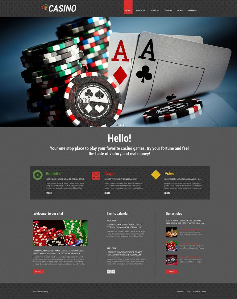 Slot Machines Responsive WordPress Theme New Screenshots BIG