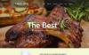 Template Web Flexível para Sites de Cafeteria e Restaurante №55158 New Screenshots BIG