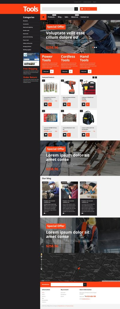 46 best home amp family shopify themes templatemonster