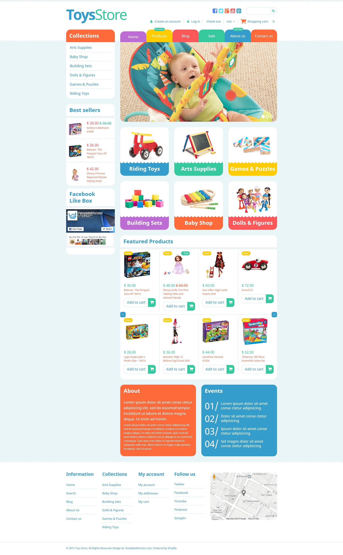 Toy Store Responsive Shopify Theme - screenshot