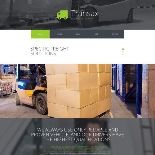 Transax - Joomla! Template based on Bootstrap