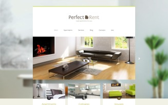 Perfect Rent - Real Estate Multipage Modern Joomla Template