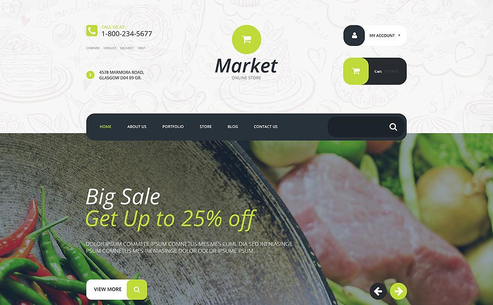 Responsywny motyw WooCommerce Supermarket #55204 New Screenshots BIG