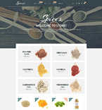 Food & Drink Shopify Template 55213