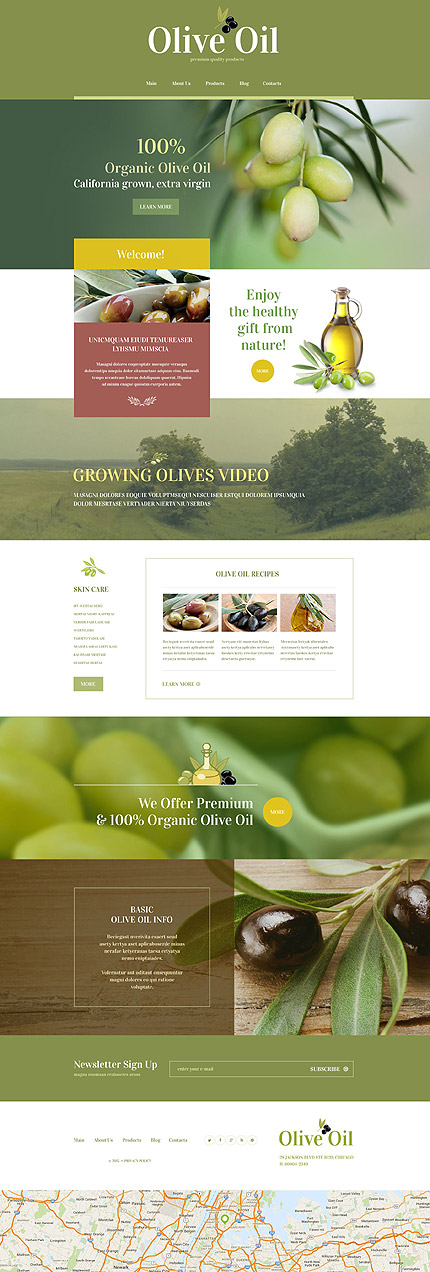 Website Template #55218