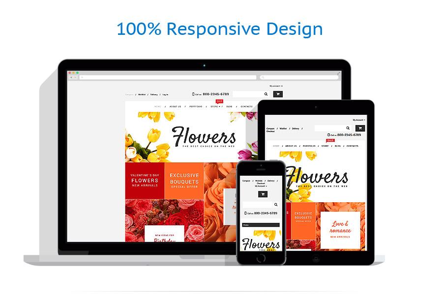 WooCommerce Themes Fleurs #55220