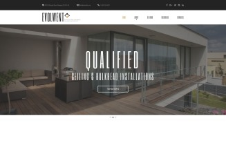 Evolwent - Interior Design Responsive Modern HTML Website Template