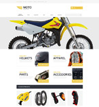 Sport osCommerce  Template 55228