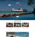 Travel WooCommerce Template 55230