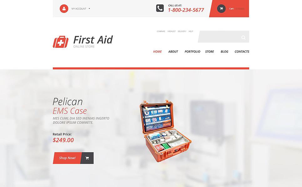 Responzivní WooCommerce motiv na téma Záchranní služba New Screenshots BIG