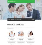 Medical Website  Template 55236