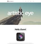 Art & Photography Website  Template 55237
