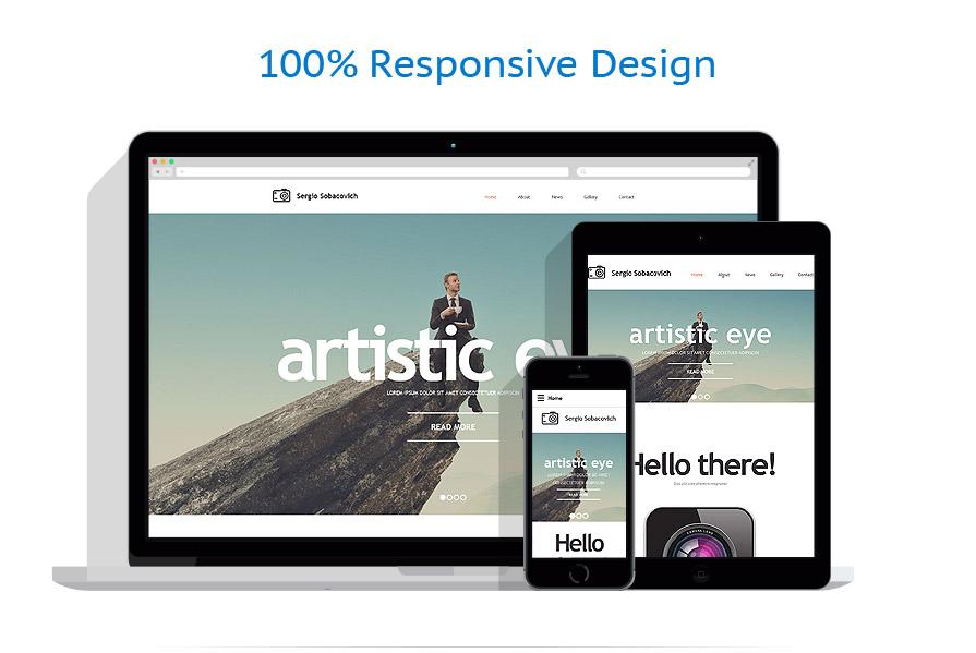 Modèles HTML5 Art et Photographie #55237