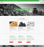 Agriculture Website  Template 55240