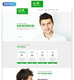 Medical Website  Template 55241