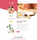 Beauty Website  Template 55244