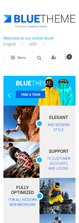 Magento Theme/Template 55248 Main Page Screenshot