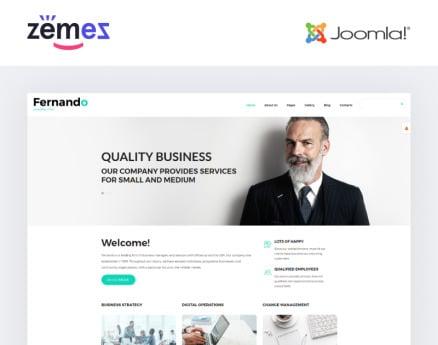 Corporate Consulting Joomla Template