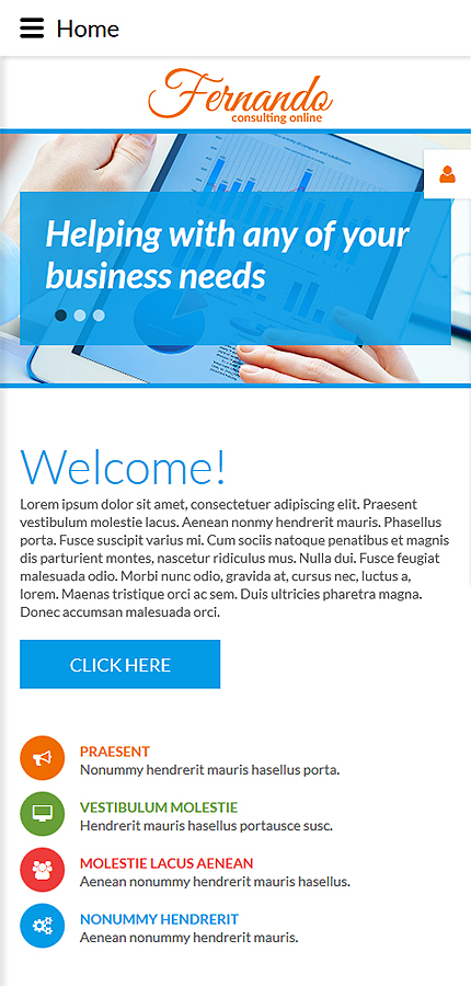 Joomla Theme/Template 55249 Main Page Screenshot