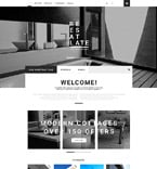 Real Estate OpenCart  Template 55257