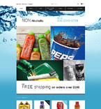 Food & Drink OpenCart  Template 55261