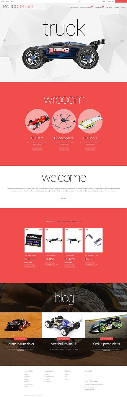 ADOBE Photoshop Template 55263 Home Page Screenshot