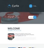 Sport Landing Page  Template 55264