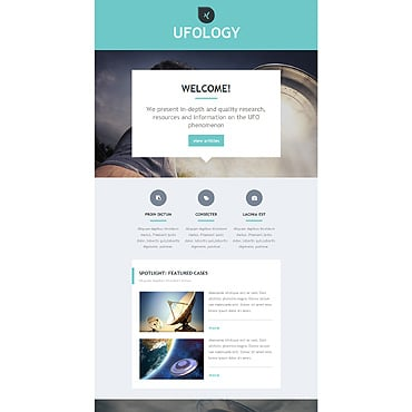 Купить  пофессиональные Email шаблоны. Купить шаблон #55265 и создать сайт.
