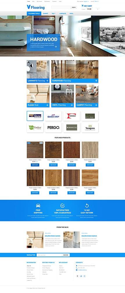 Magento Theme/Template 55267 Main Page Screenshot