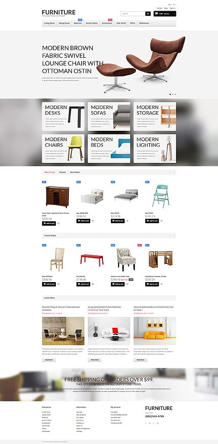 ADOBE Photoshop Template 55268 Home Page Screenshot