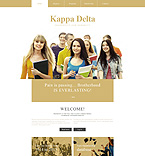Education Website  Template 55277