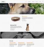 Animals & Pets Website  Template 55278