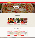 Cafe & Restaurant Muse  Template 55280