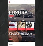 Cars Website  Template 55282