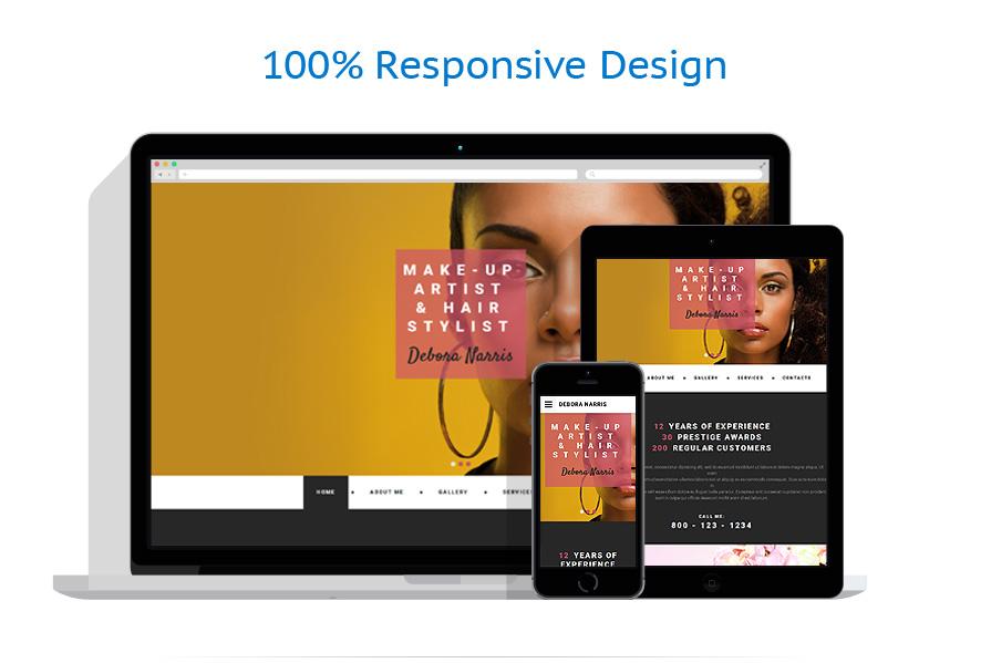 Modèles HTML5 Personal pages #55283